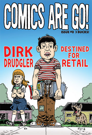 Comics Are Go #0 Destined For Retail