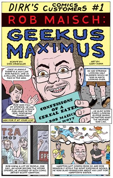 Geekus Maximus Page 1