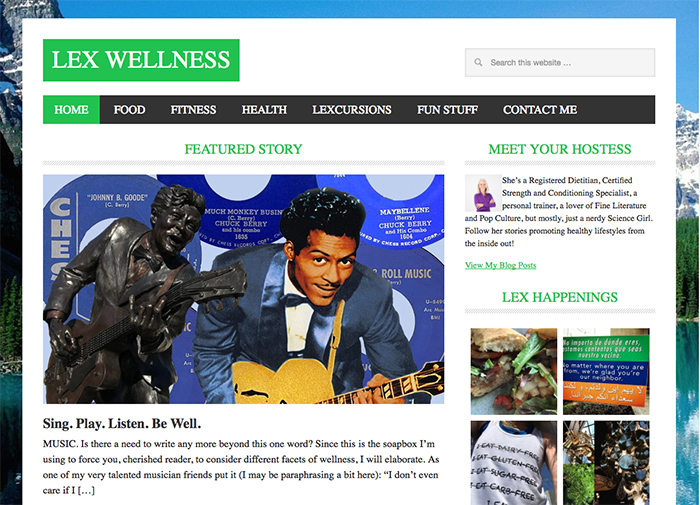 lex wellness home page