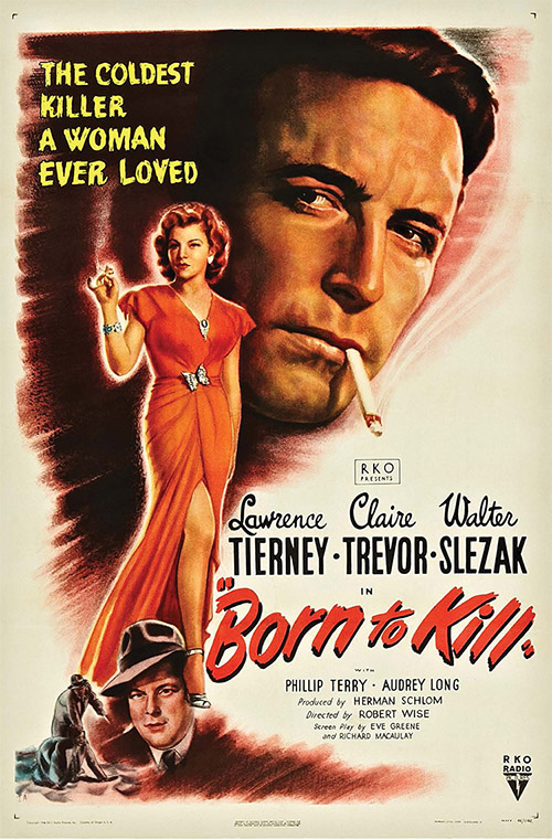 born to kill movie poster
