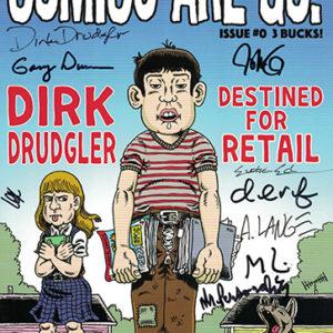 Comics Are Go #0 signed