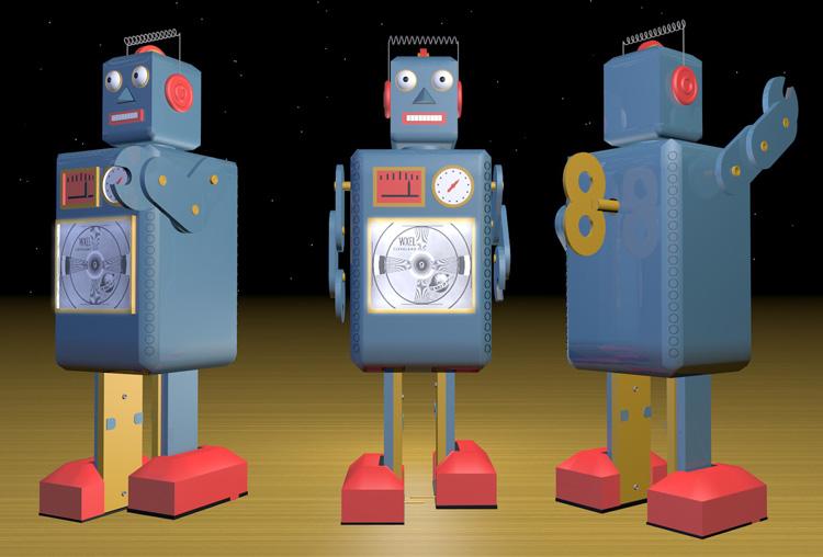 robots three