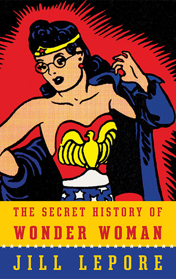 Secret life of wonder woman book cover
