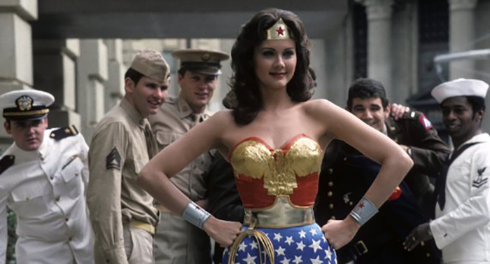 Lynda Carter as Wonder Woman from Dirk's Wonder Woman Tribute