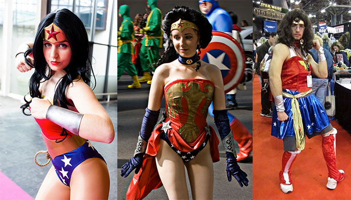 wonder woman cosplay from Dirk's Wonder Woman Tribute