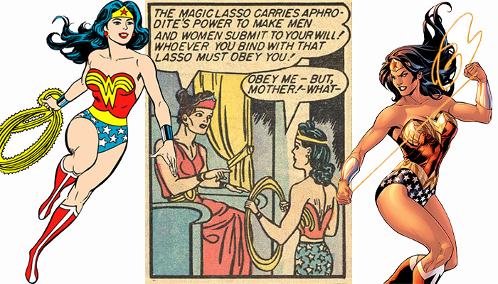 Wonder Woman and her Magic Lasso from Dirk's Wonder Woman Tribute