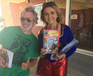 SKR Comics & Lake Erie Crushers – A Superhero Day Team-up!