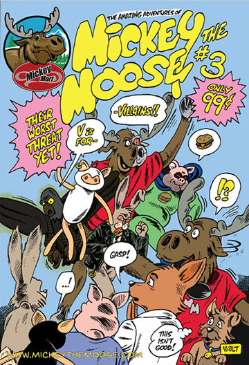 The Amazing Adventures of Mickey the Moose #3